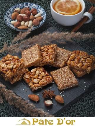 Pate D'or / Козинаки ассорти с кунжутом и арахисом, 300 г. / Восточные сладости