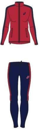 Комплект спортивной формы Asics Lined, red, S INT