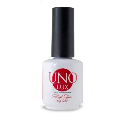 Верхнее покрытие Uno Lux - High Gloss Top Coat, 15 мл