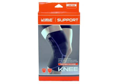 Суппорт колена LiveUp Knee Support LS5783-SM, синий
