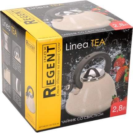 Чайник REGENT INOX, TEA, 2,8 л