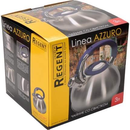 Чайник REGENT INOX, AZZURO, 3 л
