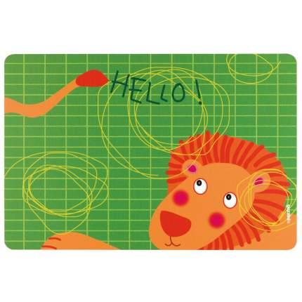 Коврик сервировочный детский Hello лев