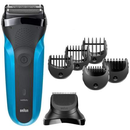 Электробритва Braun 310 BT Black/Blue
