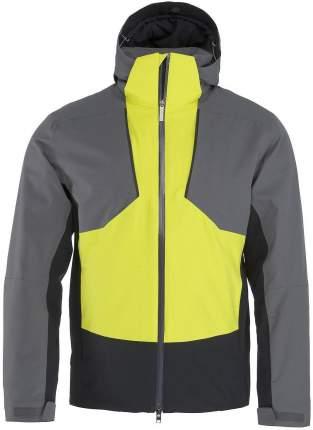 Куртка Head Glacier Jacket M, anthrazite/yellow, L