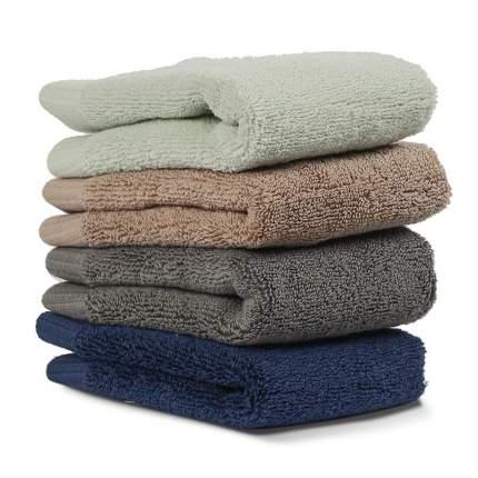 Полотенце для лица коричневое, essential, 30х30 см, Tkano