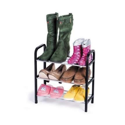 Полка для обуви Artmoon CALGARY 699270 42х19,5х47,5 см, серый/черный