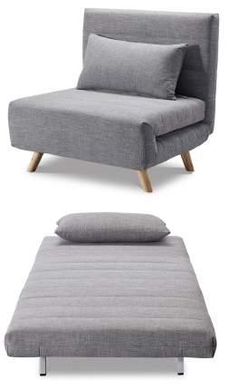 Кресло-кровать Flex, серый