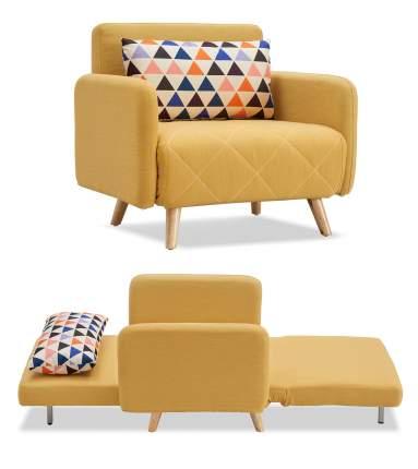Кресло-кровать Cardiff, желтый