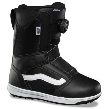 Ботинки для сноуборда Vans Juvie Linerless 2021, black/white, 22