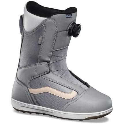 Ботинки для сноуборда Vans Encore Linerless 2021, grey/marshmallow, 24