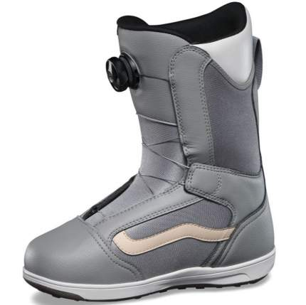 Ботинки для сноуборда Vans Encore Linerless 2021, grey/marshmallow, 23.5
