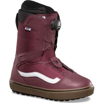 Ботинки для сноуборда Vans Aura Og 2019, burgundy/gum, 30