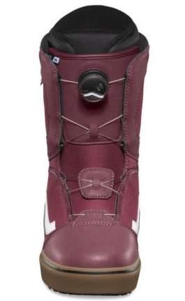 Ботинки для сноуборда Vans Aura Og 2019, burgundy/gum, 29.5