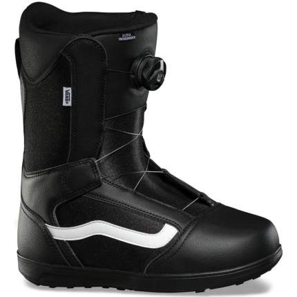 Ботинки для сноуборда Vans Aura Linerless 2020, black/white, 27