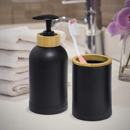 Набор для ванной комнаты Zen черный, Balvi