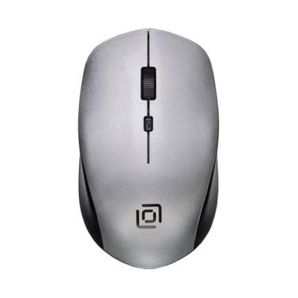 Беспроводная мышь Oklick 565MW Glossy Black/Silver
