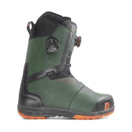 Ботинки для сноуборда Nidecker Helios 2020, forest, 29.5