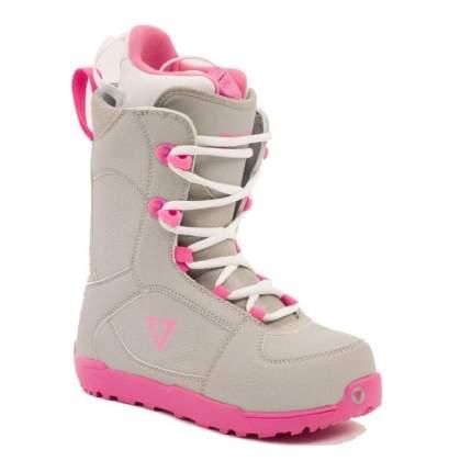 Ботинки для сноуборда BF snowboards Young Lady 2020, pink/white, 21.5