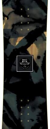 Сноуборд Salomon Subject Men 2020, black/green, 159 см