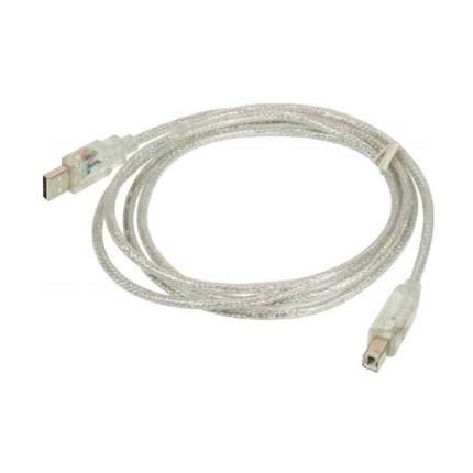 Кабель Ningbo USB A(m)/USB B(m) 1.8м Clear