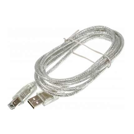 Кабель Ningbo USB A(m)/USB B(m) 1.8м Clear simple