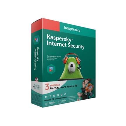 Антивирус Kaspersky Internet Security Multi-Device Ru Ed МЕГОГО 2устр 1Y