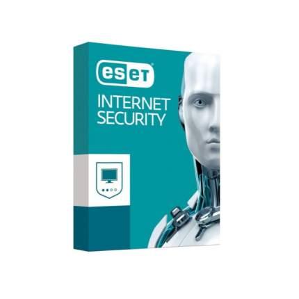 Антивирус Eset NOD32 Internet Security продление 3 устройства 1Y Box