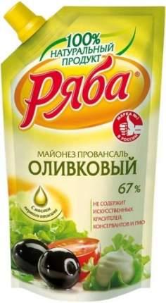 Майонез Ряба Оливковый 67%, 372 г