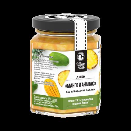 Джем Иван-поле без сахара манго ананас 180 г
