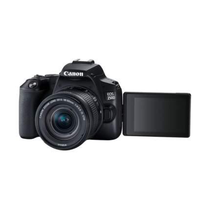 Зеркальные фотоаппараты Canon EOS 250D Black