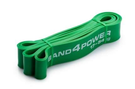 Петля тренировочная band4power зеленая 17-54 кг