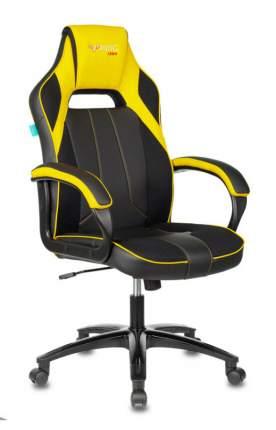 Кресло игровое ZOMBIE VIKING 2 AERO YELLOW черный/желтый искусст.кожа/ткань