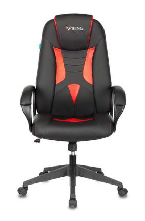 Игровое кресло ZOMBIE VIKING-8N/BL-RED, черный/красный