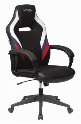 Игровое кресло ZOMBIE VIKING 3 AERO RUS, черный/белый/синий/красный
