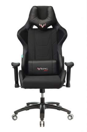 Кресло игровое Бюрократ VIKING 4 AERO BLACK EDITION черный искусст.кожа/ткань