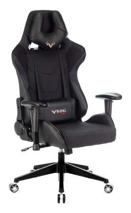 Кресло игровое ZOMBIE VIKING 4 AERO BLACK EDITION черный искусст.кожа/ткань