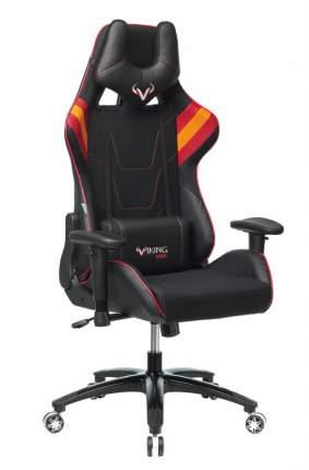 Кресло игровое Бюрократ VIKING 4 AERO RED две подушки черный/красный искусст.кожа/ткань