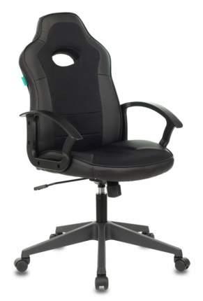 Кресло игровое Бюрократ VIKING-11/BLACK черный искусст.кожа/ткань