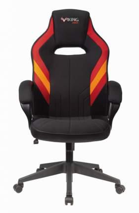 Кресло игровое ZOMBIE VIKING 3 AERO RED черный/красный искусст.кожа/ткань