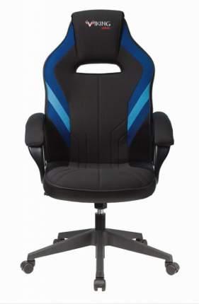Кресло игровое ZOMBIE VIKING 3 AERO BLUE черный/синий искусст.кожа/ткань