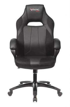 Кресло игровое ZOMBIE VIKING 2 AERO BLACK EDITION черный искусст.кожа/ткань