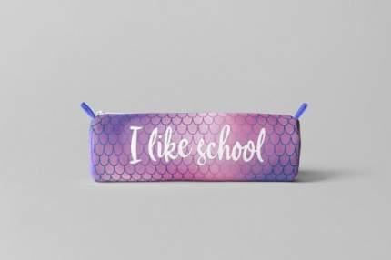 Пенал блестящий. I like school