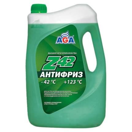 Антифриз AGA G11 зеленый готовый 1л