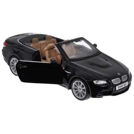 """Bburago Коллекционная машинка 1:32 PLUS """"BMW M3 Cabriolet 2009"""", черный"""