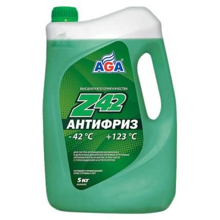 Антифриз AGA G11 зеленый готовый антифриз 5л