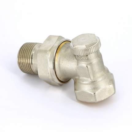 Вентиль обратный никелированный НВ UNI-FITT 3/4″ угловой с разъемным соединением THERMO