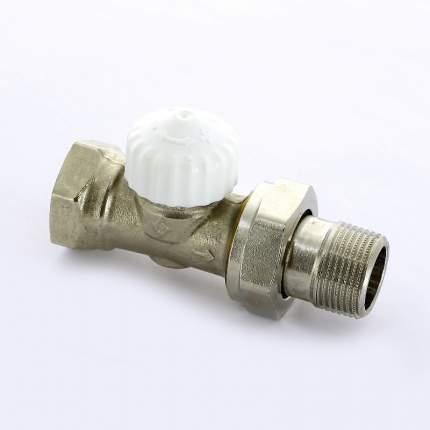 Вентиль термостатический НВ UNI-FITT 3/4″ никелированный с разъёмным соединением
