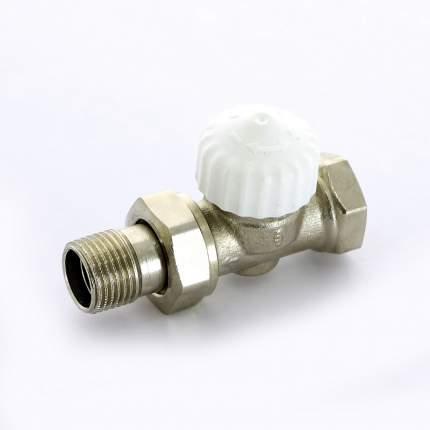 Вентиль термостатический НВ UNI-FITT 1/2″ никелированный с разъёмным соединением