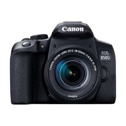 Фотоаппарат зеркальный Canon EOS 850D 18-55mm S CP Black